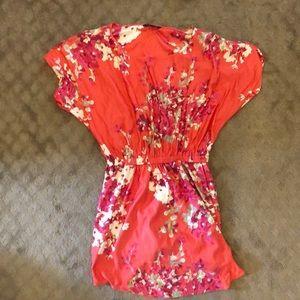 Floral knee length dress